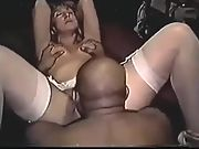 Addie from pennslyvania in very uncommon molten interracial home video