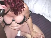Phat ass granny takes dick in her anus like a pro