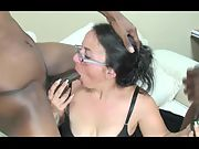 55 year old grannie shows why she's considered to be a cocksucking master
