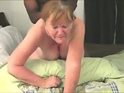 Granny's little secret - finds and meets up with bbc to give her a superb ass-fucking
