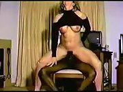 Wifey first time with a large black cock cheating interracial