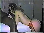 Bi-racial vintage orgy tape with a handsome cuckold wife