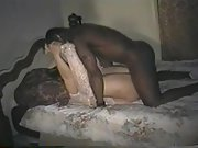 Hotwife wife whored out with two black bulls intent on seeding her