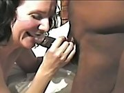 Cuckold white milf completely satisfied by horny black plowers group