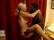Naughty fit gilf love that big dark hued dick and can't get enough