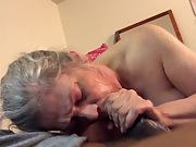 Grannies never disappoint this splendid mature vixen is to die for