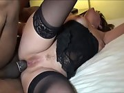 Big tit mummy takes a bbc in her facehole and bootie