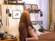 Wife visits a dark hued bull for sex